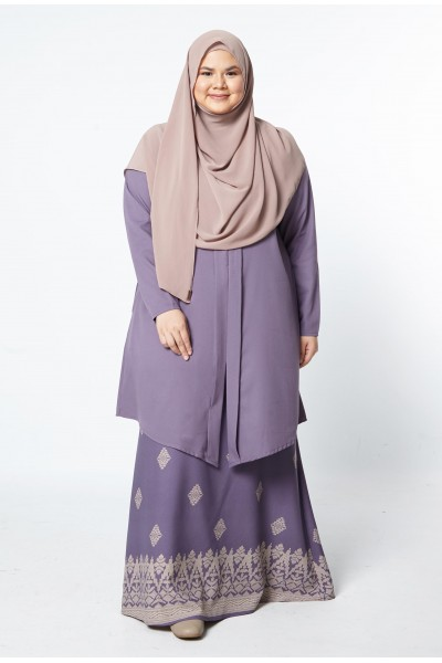 KEYSHA SONGKET KEBARUNG - DUSTY PURPLE